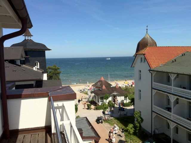 hotel nymphe in binz blick aus suite auf die ostsee dk. Black Bedroom Furniture Sets. Home Design Ideas