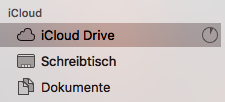 iCloud Drive Schreibtisch Finder