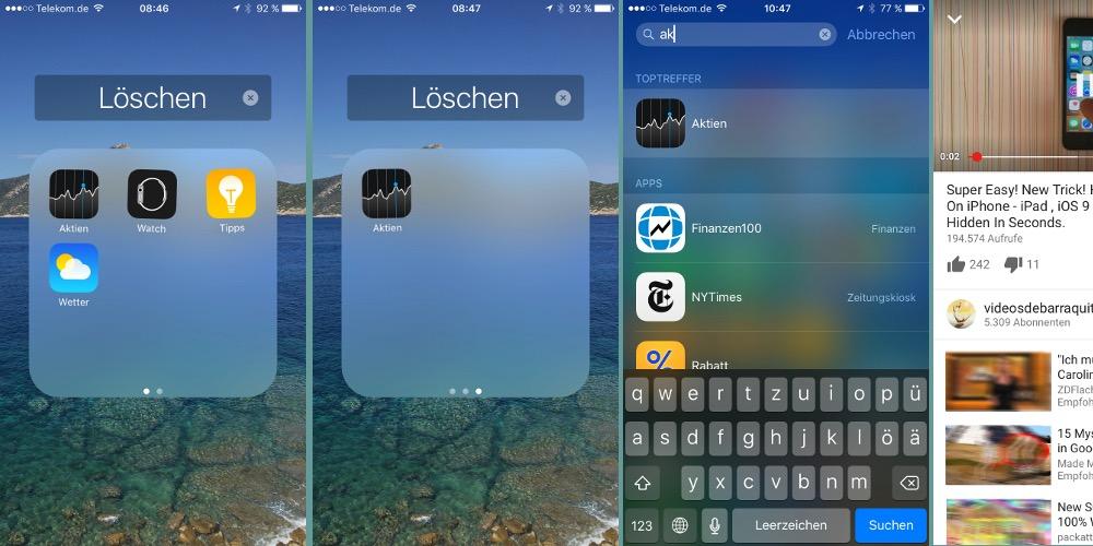 Apple Apps verschwinden lassen