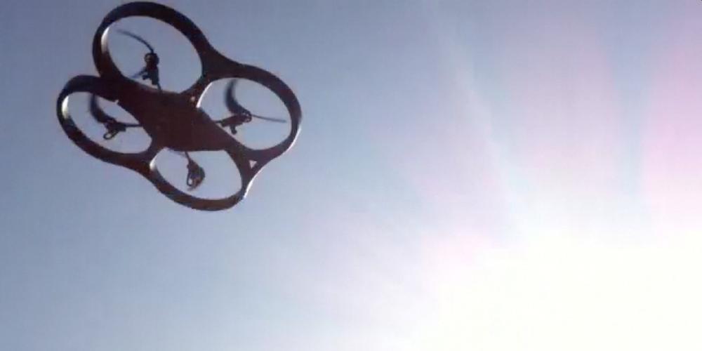 Ar Drone von Parrot Testflug