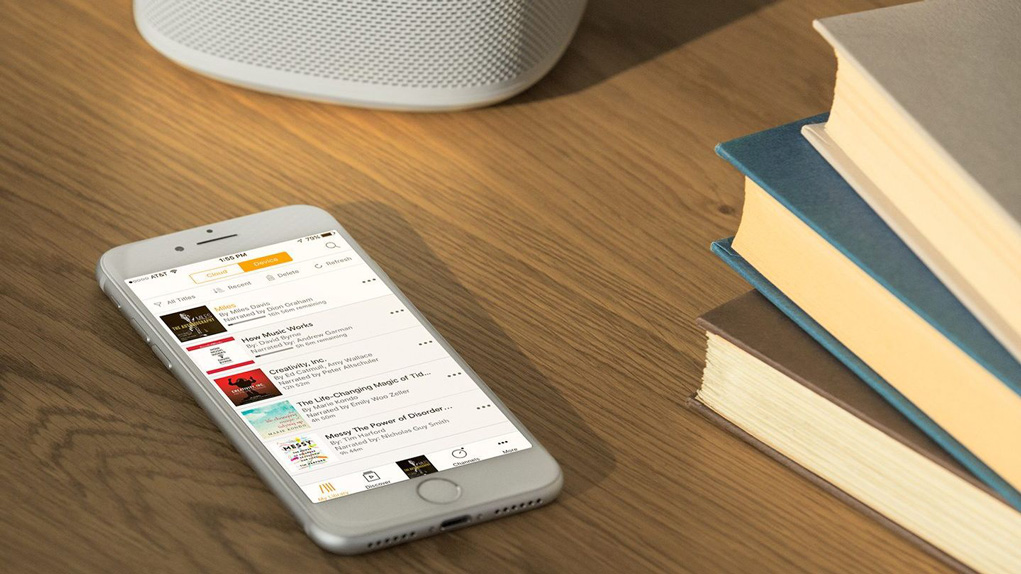 Hörbücher auf Sonos-Lautsprechern hören
