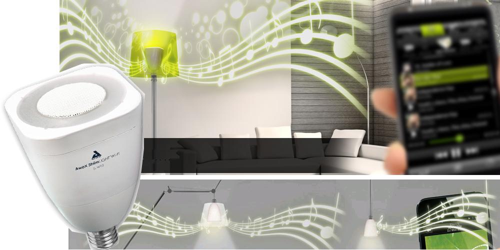 Awox Striim Light WiFi Lautsprecher LED-Lampe