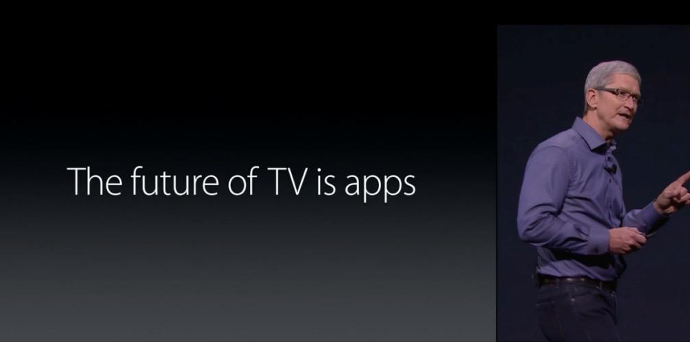 Apple Zukunft TV Apps