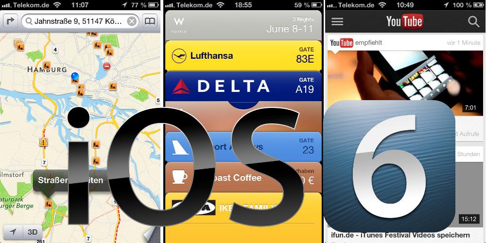iOS 6 iPhone