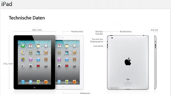 Streit um den Namen iPad in Cina (c) Apple