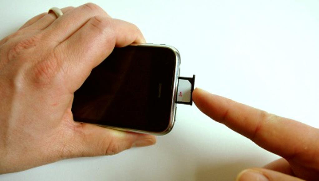 iPhone 3G SIM rein