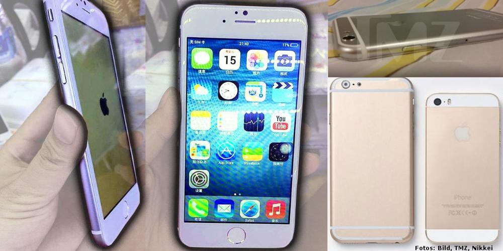 iPhone 6 Leaks Bilder
