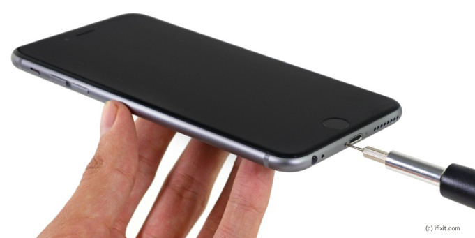 iPhone 6s Plus ifixit teardown