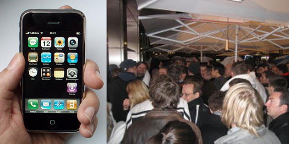 Verkaufsstart in Köln iPhone
