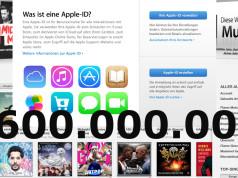 600.000.000 iTunes Konten