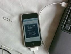 Jailbreak und Unlock eines iPhones