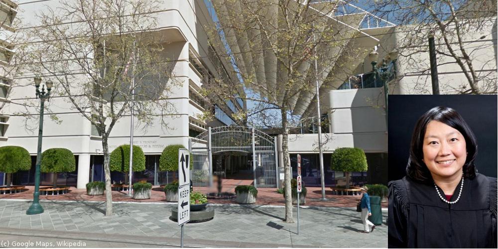 US District Court in San José und Richterin Lucy Koh (c) Google Maps, Wikipedia