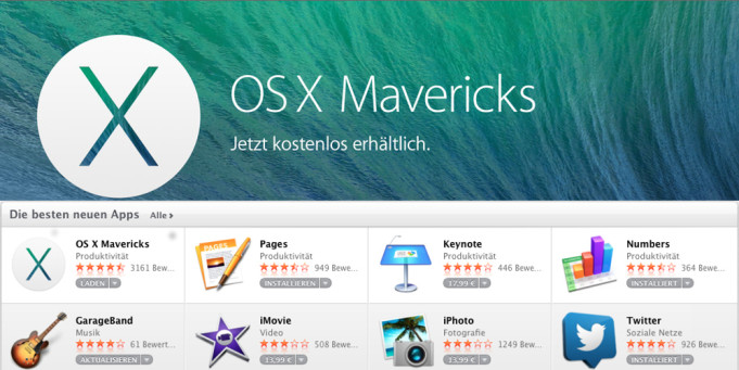 OS X Mavericks setzt verstärkt auf die iCloud