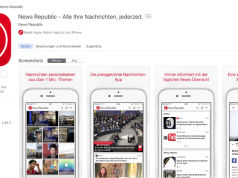 News Republic App im iTunes Store
