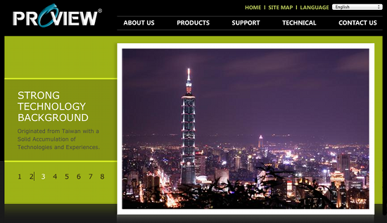 Proview Homepage
