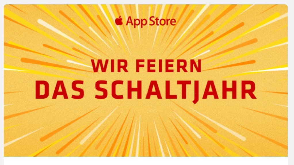 Schaltjahr Apps