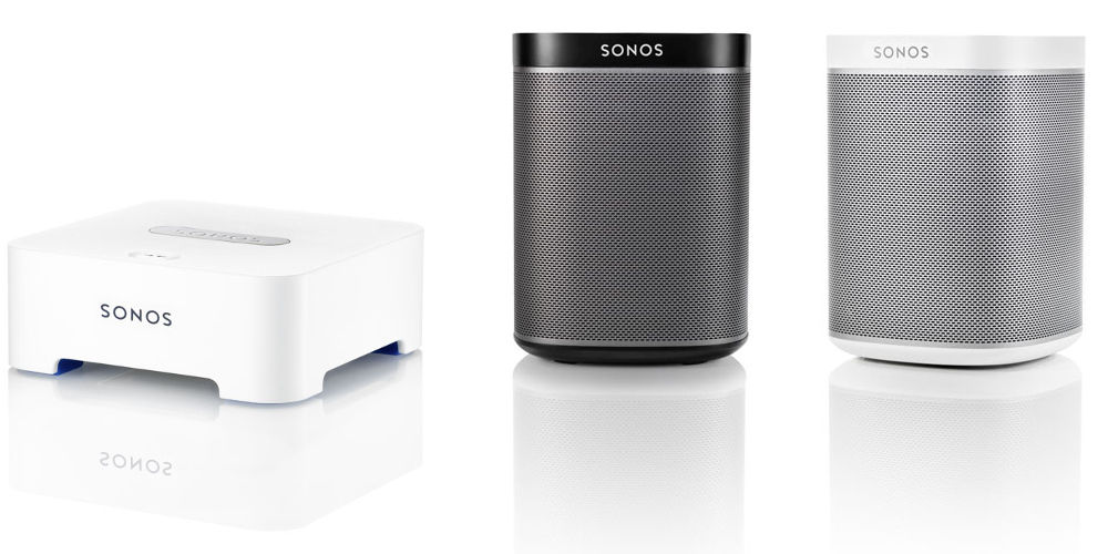 Sonos Play 1 und Bridge
