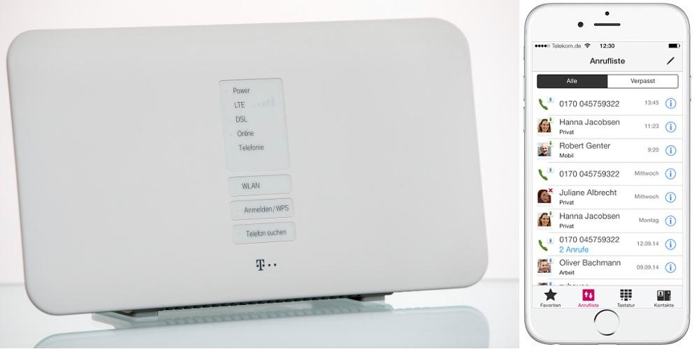 hybrid router der telekom iphone fan. Black Bedroom Furniture Sets. Home Design Ideas